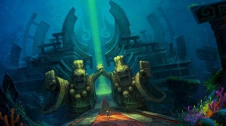 壁纸 海底 海底世界 海洋馆 水族馆 游戏截图 450_252