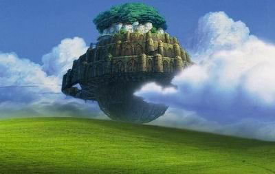 """极光世界带你畅游唯美""""天空之城""""; 唯美天空之城; 高清天空图片"""