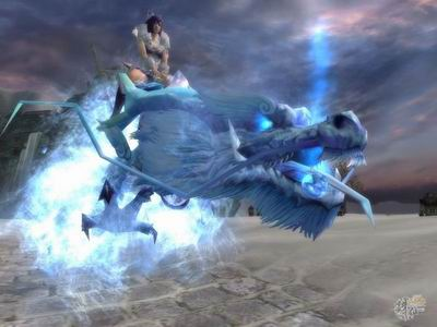 《诛仙》小白装,多人坐骑冰龙即将登场