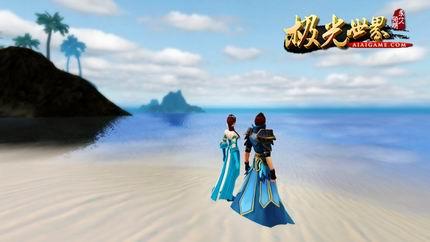 以其精美细腻的画面风格营造了一副副风景优美的山水画,适合情侣约会
