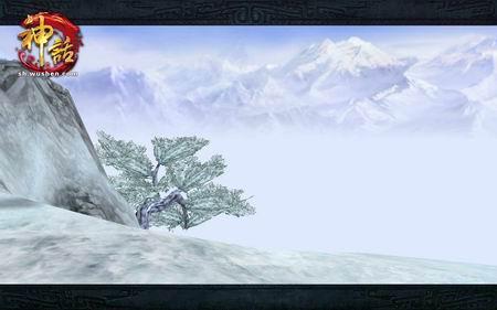雪地地图山洞